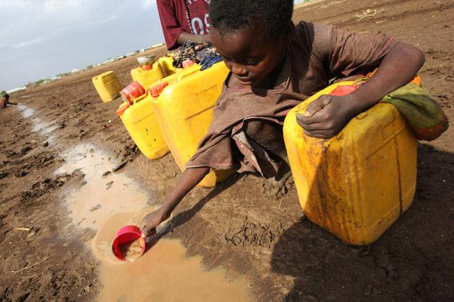нехватка питьевой воды в Африке