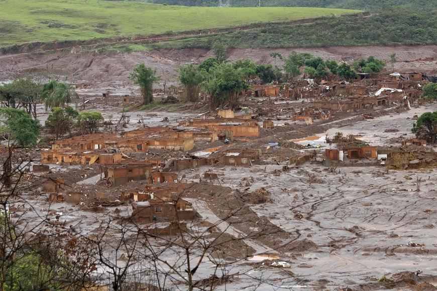 токсичный выброс на Юго-востоке Бразилии