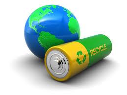 батарейка и земля