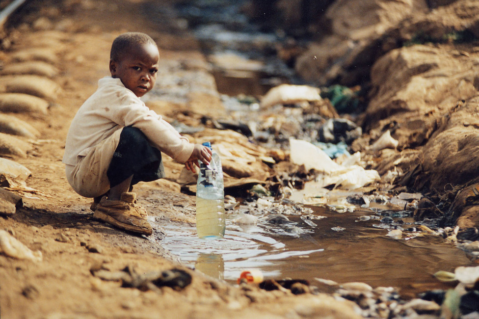 нехватака воды в Африке