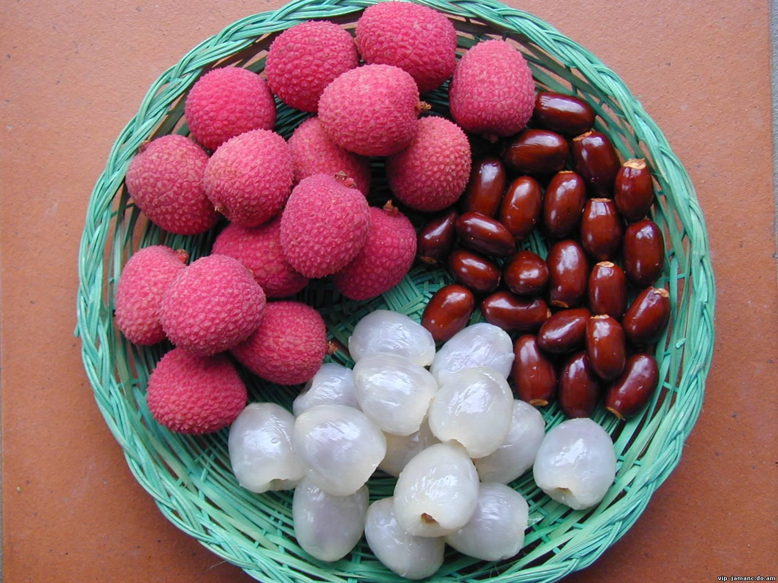 плоды китайской сливы