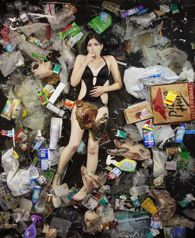 человек и его мусор
