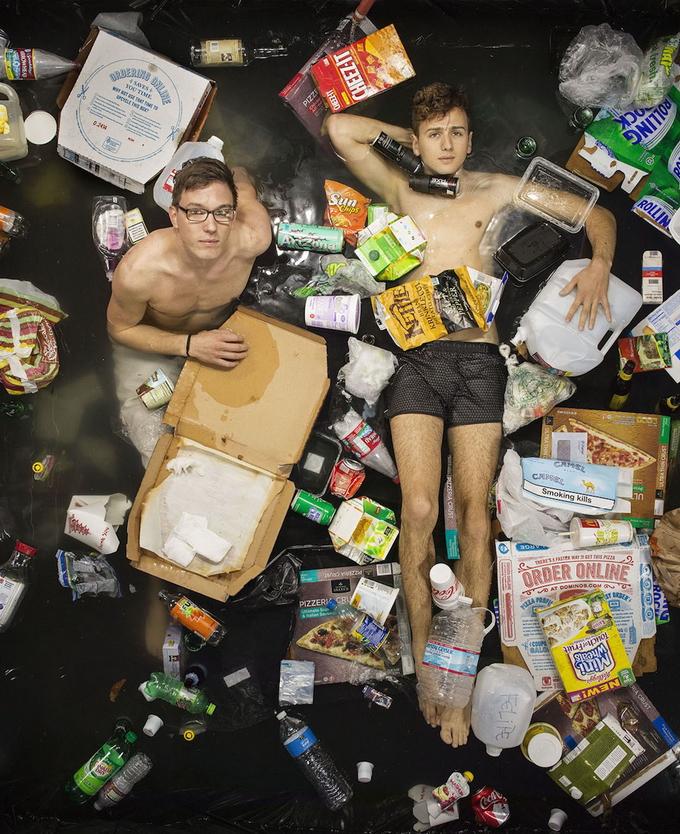 современные проблемы с мусором