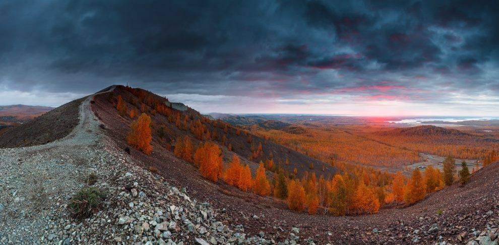 Карабаш, Южный Урал, Вид с хребта Лысая гора.