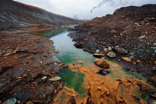 город Карабаш, загрязнение воды
