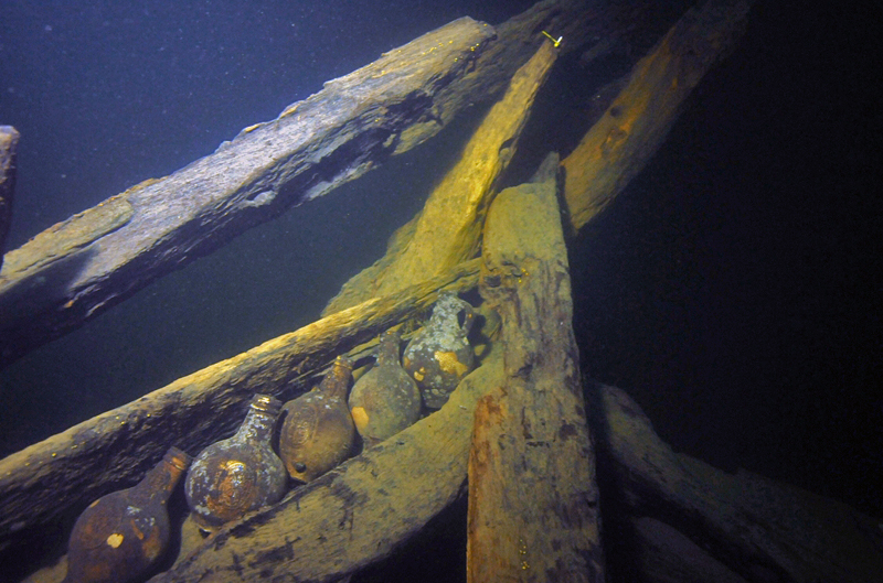 шведский корабль XVII века