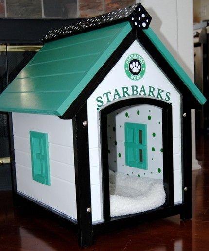 необычная будка для собаки