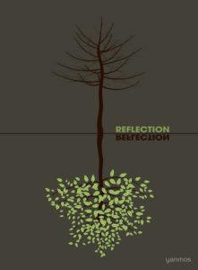 Экологический плакат Reflection