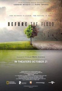 Экологический плакат Before the flood