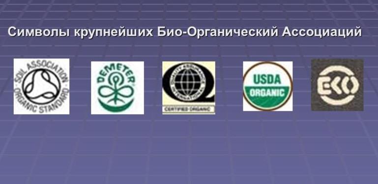 Символы био-органической ассоциации