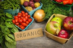 Экологический плакат Organic