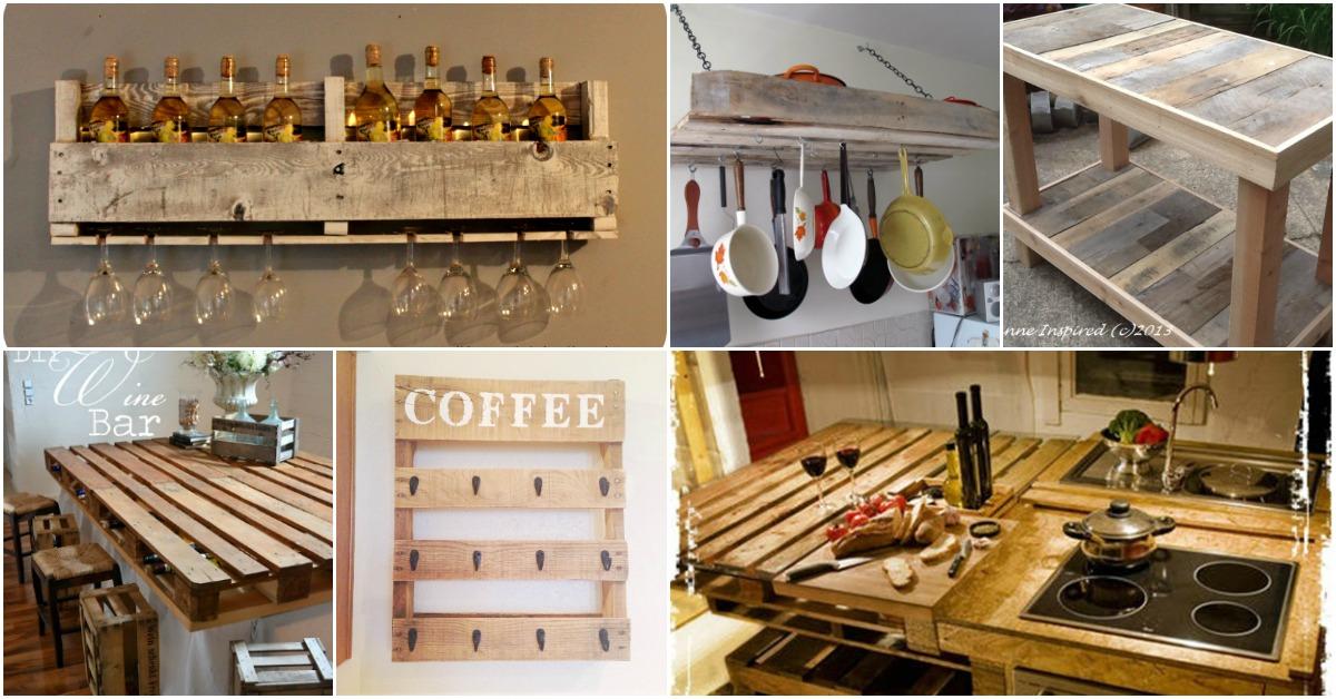 кухонная мебель из паллета