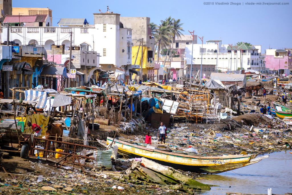 мусор в Африке