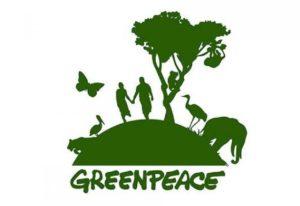 Экологический плакат Greenpeace
