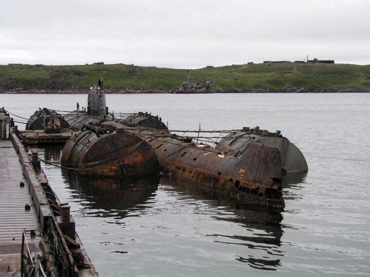 569-я береговая техническая база, Мурманск, Россия