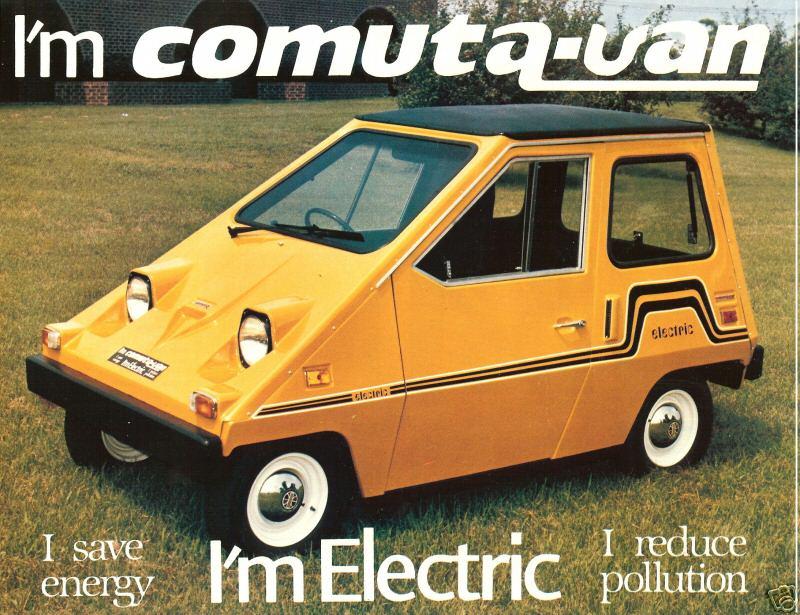 электромобиль 1960 года