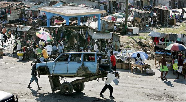 мусор Гаити