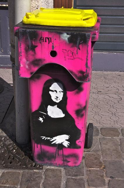 урна с Мона Лизой