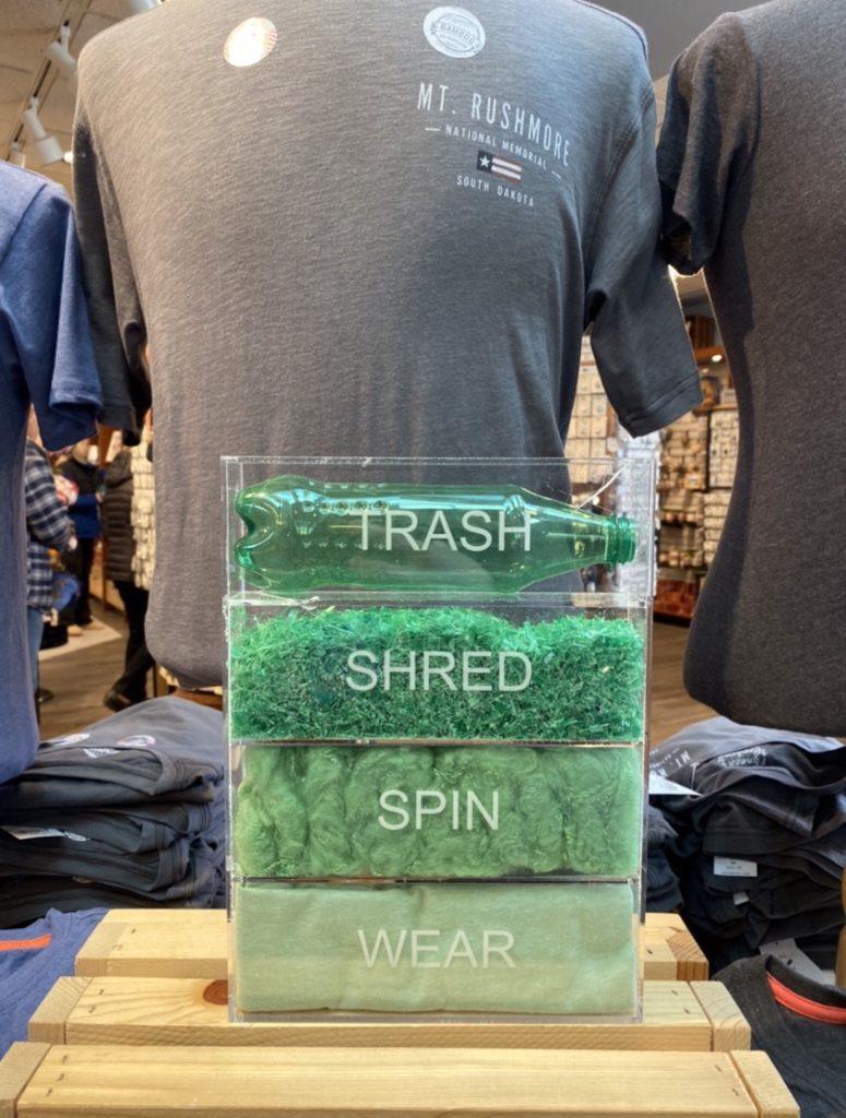 футболка из пластиковых бутылок