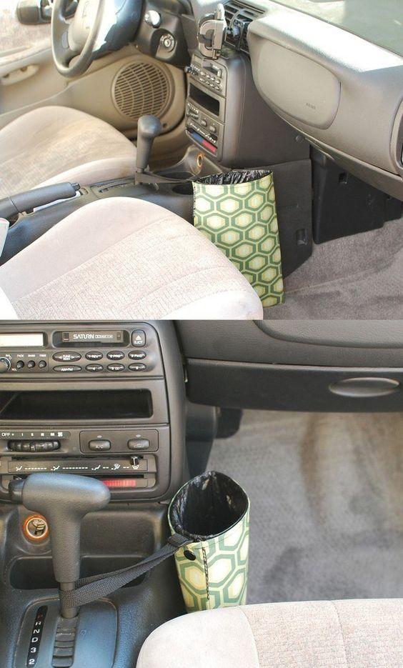 мобильная урна для машины