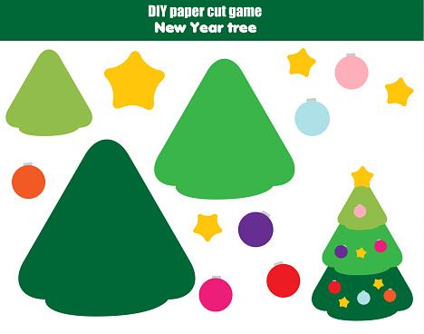 Легкая елка для детей